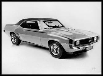1969 Chevrolet Camaro SS by DuchaART