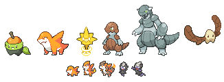 Fakemon Redesigns #2 by Veenerick