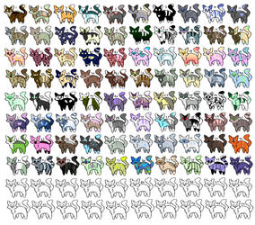 80 adopts thaT I SPENT AGES ON (open) by KiwiGecko