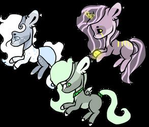 Pony adopts -OPEN- by KiwiGecko