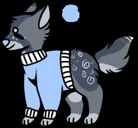 Sweater doggo adopt auction -OPEN- PRICE LOWERED by KiwiGecko