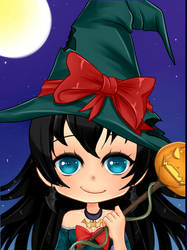 Halloween Chibi Karyana by YurixTheWanderer