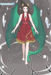 Dragon Xera, via MissangestDragonCreator by YurixTheWanderer