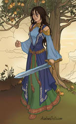 Karyana, via Viking-Woman-by-AzaleasDolls by YurixTheWanderer