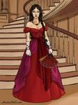 Karyana before the Masquerade by YurixTheWanderer