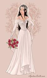 Karyana via Wedding-Dress-by-AzaleasDolls by YurixTheWanderer