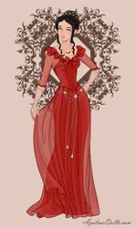 Karyana's red dress by YurixTheWanderer