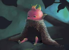 Dragon-fruit Boy by rainytown