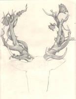 Antlers WIP by punkaspazer