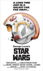 Star Wars 'Alternative' Poster by oldredjalopy
