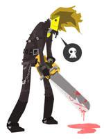 chainsaw vigilante by speedball0o