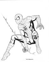 Spider-Man Inks by davidmarquez