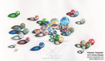 Marbles: Keepsies by Aryenne