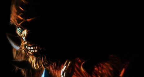 Motuc Beast Man by AldgerRelpa