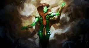 Green Goddess Fan Art by AldgerRelpa