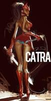 Catra Fan Art by AldgerRelpa