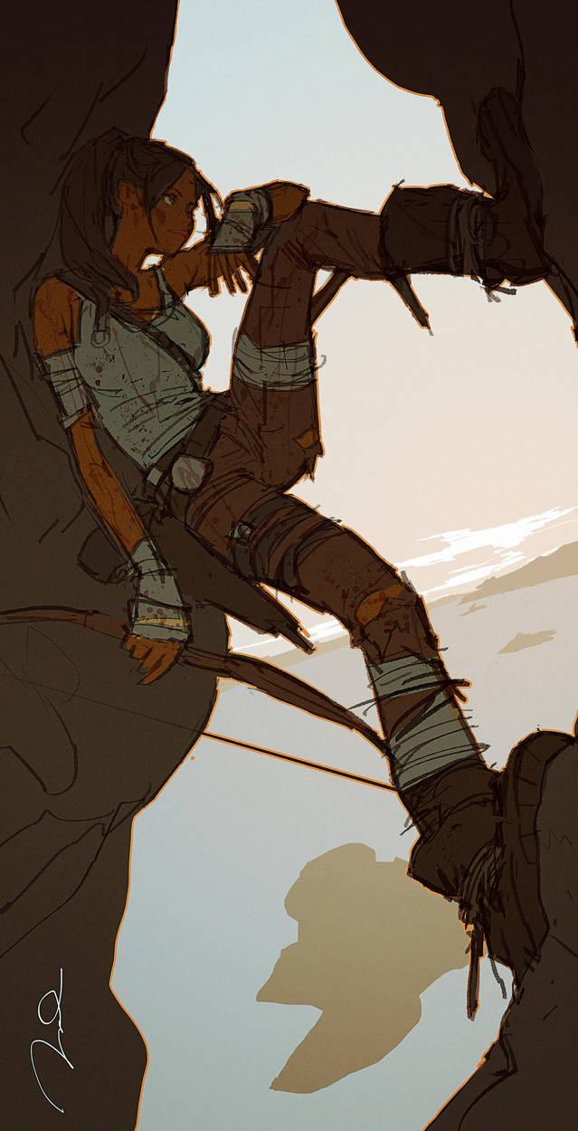 Lara Croft contest by AldgerRelpa