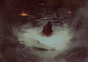 Super Komrad Girl - Ashes by AldgerRelpa