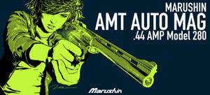 MARUSHIN AMT AUTO MAG BOX ART Dirty Sally 3 by AldgerRelpa
