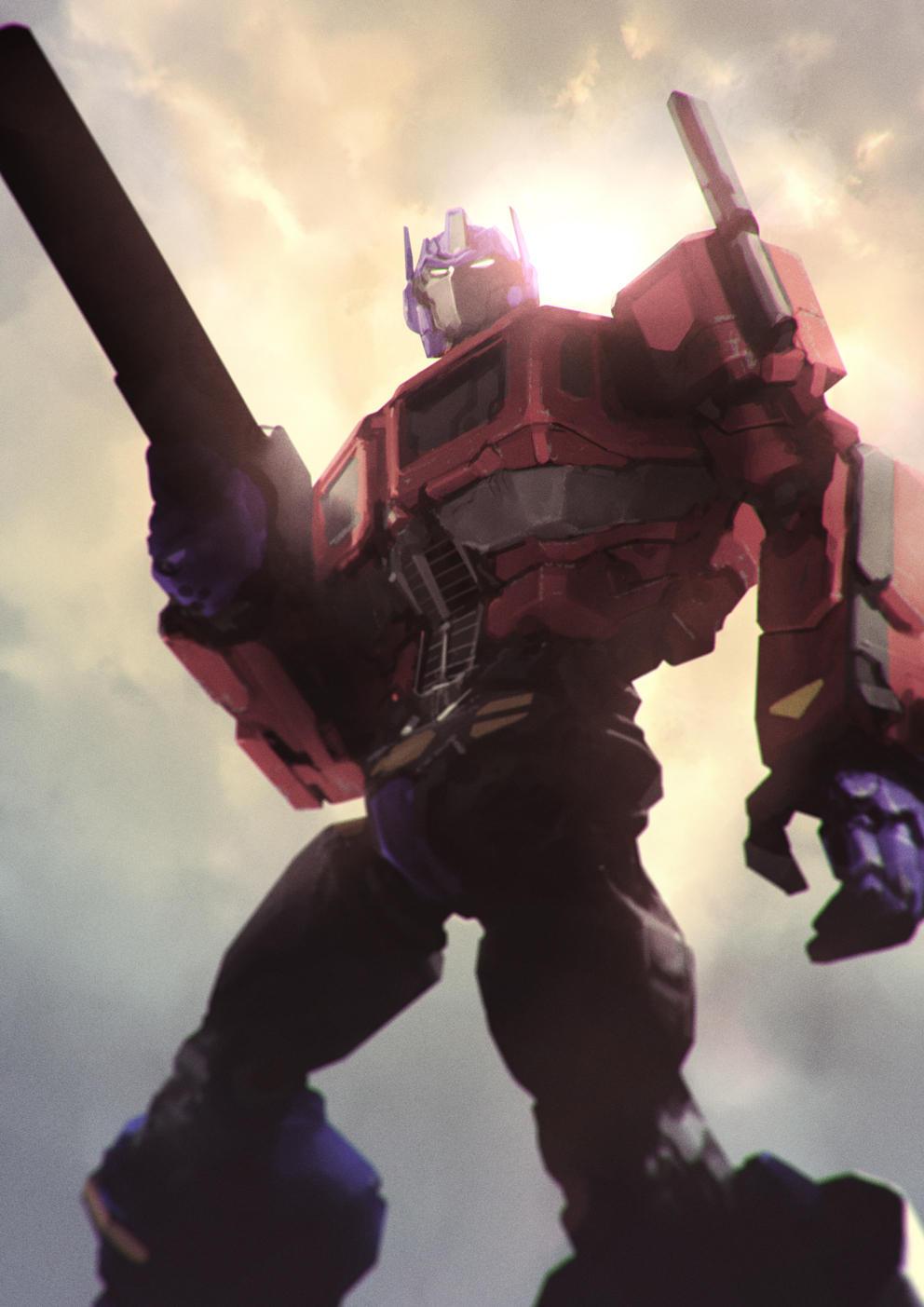 Battle Convoy aka Optimus Prime by AldgerRelpa