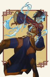 Intertwined - Pin Up - Lady Xia by AldgerRelpa
