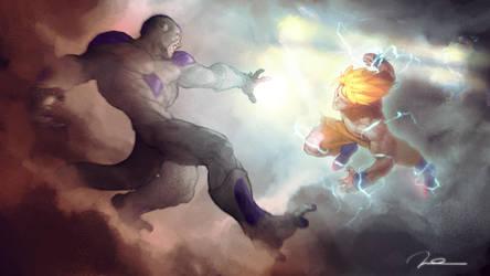 What Freezer kills makes Goku stronger. by AldgerRelpa
