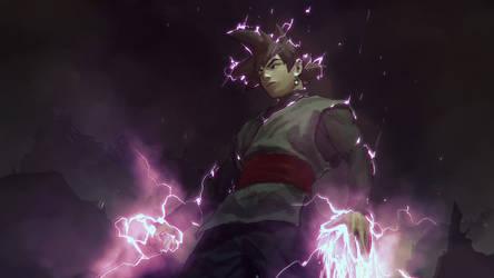 Goku-Burakku-2 by AldgerRelpa