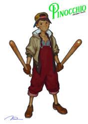 Unfairy Tales - Pinocchio by AldgerRelpa