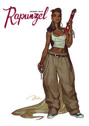 Unfairy Tales - Rapunzel by AldgerRelpa