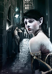 Urban Fantasy - Elves by Yayashin
