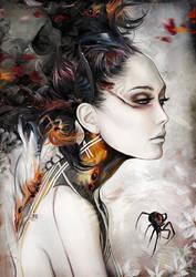 BLACK WIDOW by Yayashin
