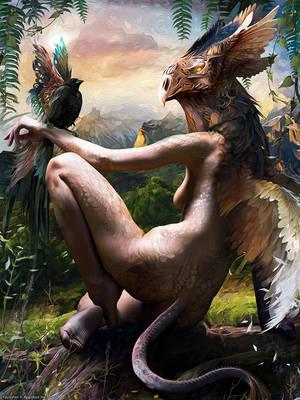 Bird God by Yayashin
