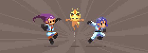 149/365 pixel : Team Rocket by igorsandman