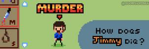 302/365 pixel art : Grim Reaper Manager by igorsandman