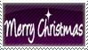 Merry Christmas Stamp by NaruButt