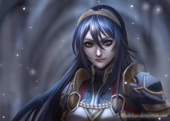 [Fire Emblem] Legendary Lucina by Solchan