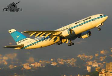 Kuwait Airways by C0pyright