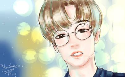 Jae- I smile by Jen-senpai
