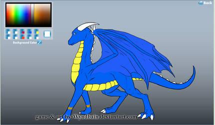 Rebecca the Genie Dragon form by Crimson-Dragon-King