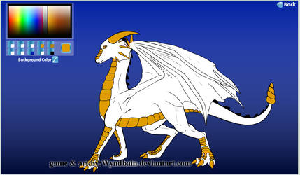 Princess Fenella 1.1 With wings by Crimson-Dragon-King