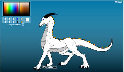 Zachary's Life as a Dragon new form without wings by Crimson-Dragon-King