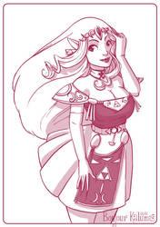 Princess Zelda by Kalumis