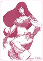 Sivir - League of Legends by Kalumis