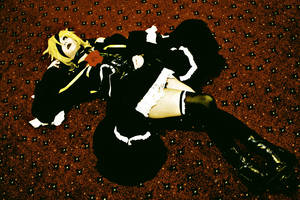 Vocaloid2: Len's Subjection by GoddessOfDarkness07