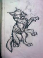 Werecat by HawthornHare