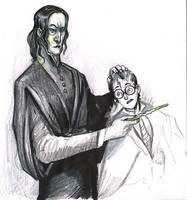 Severus Snape by Richerand