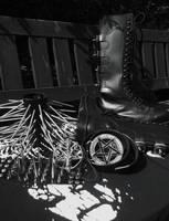 Black Metal Wardrobe by satanen