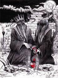 Exaltation of Obscure Wisdom by satanen