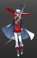 Rose knight by gongyo