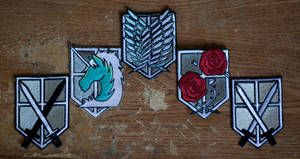 Attack on Titan Patches (1 of 1) by Cobheran